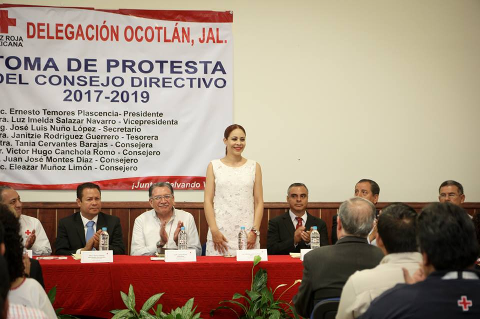 Toma de Protesta del Consejo Directivo 2017-2019 de Cruz Roja Ocotlán