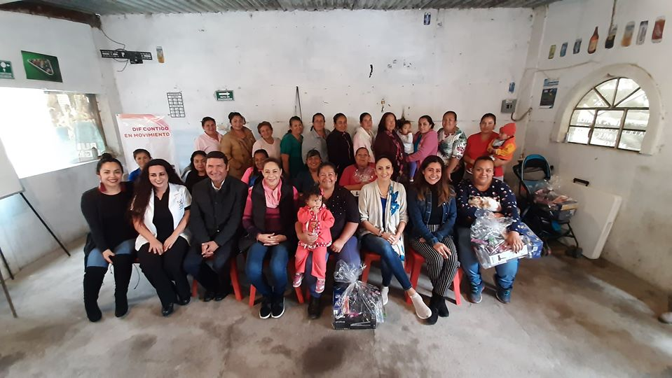 DIF Ocotlán pone en marcha proyectos para el desarrollo comunitario