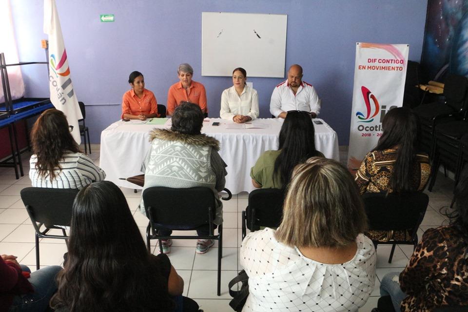 Mujeres ocotlenses comienzan nueva vida libre de violencia