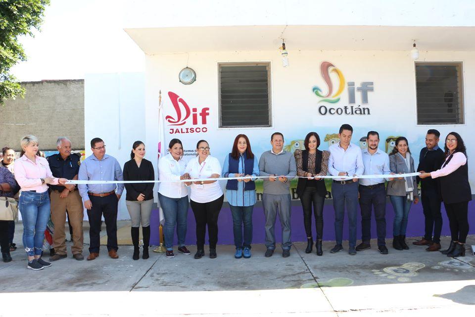 Nuevo equipamiento para UBR y aula virtual en CADI  de DIF Ocotlán