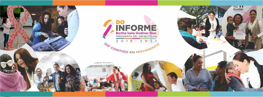 Isela Godínez presenta su 2do informe de actividades